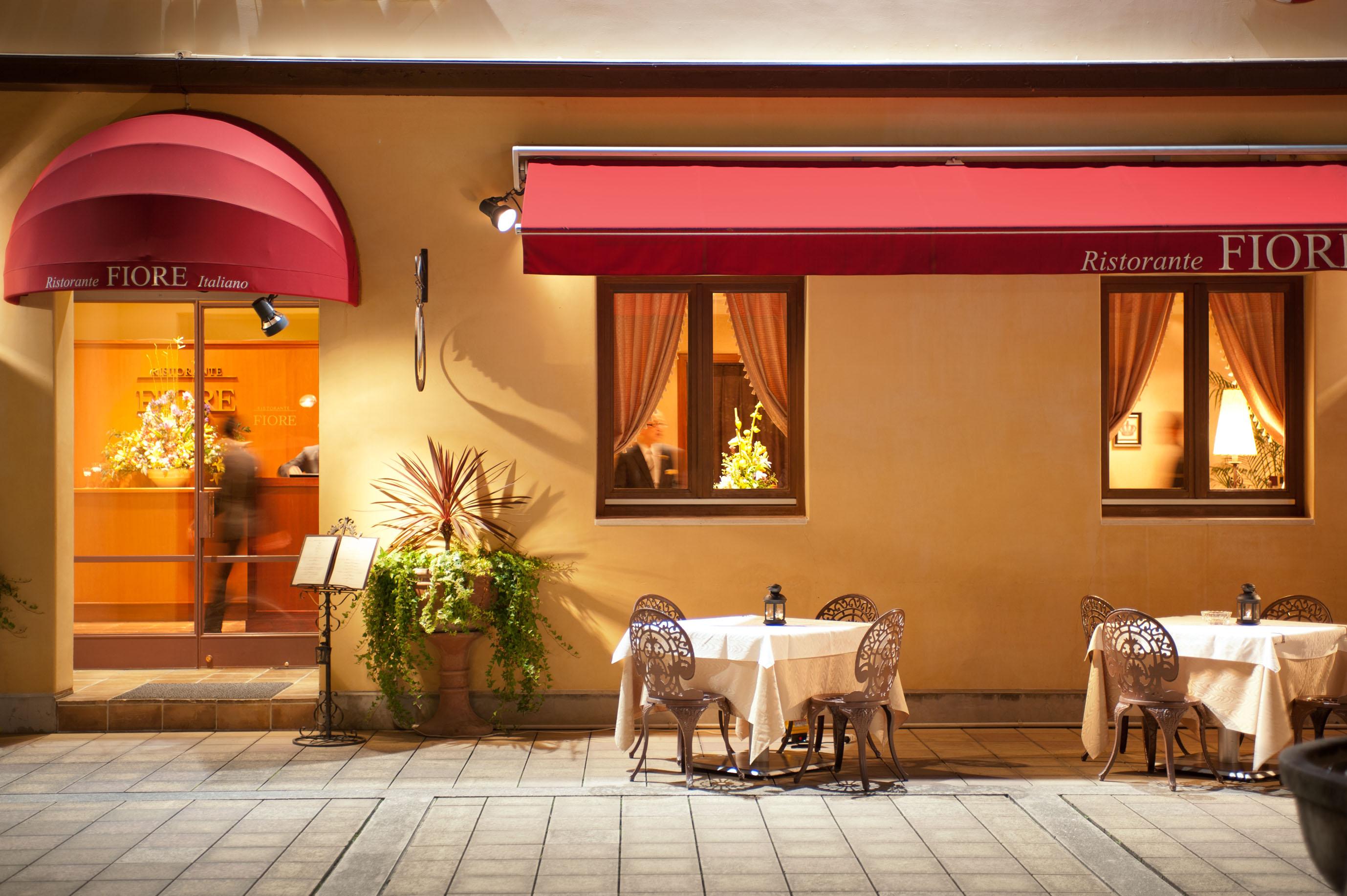 今月のレストラン:RISTORANTE FIORE/リストランテ・フィオーレ