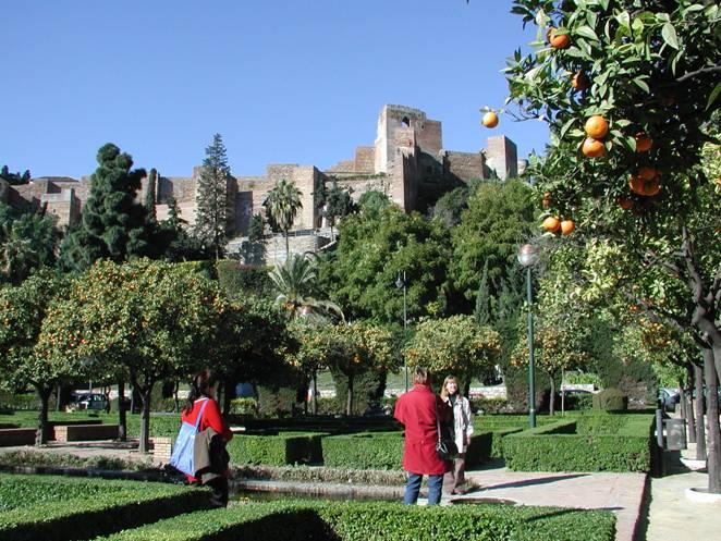 真冬でも温暖なアンダルシア地方(スペイン)