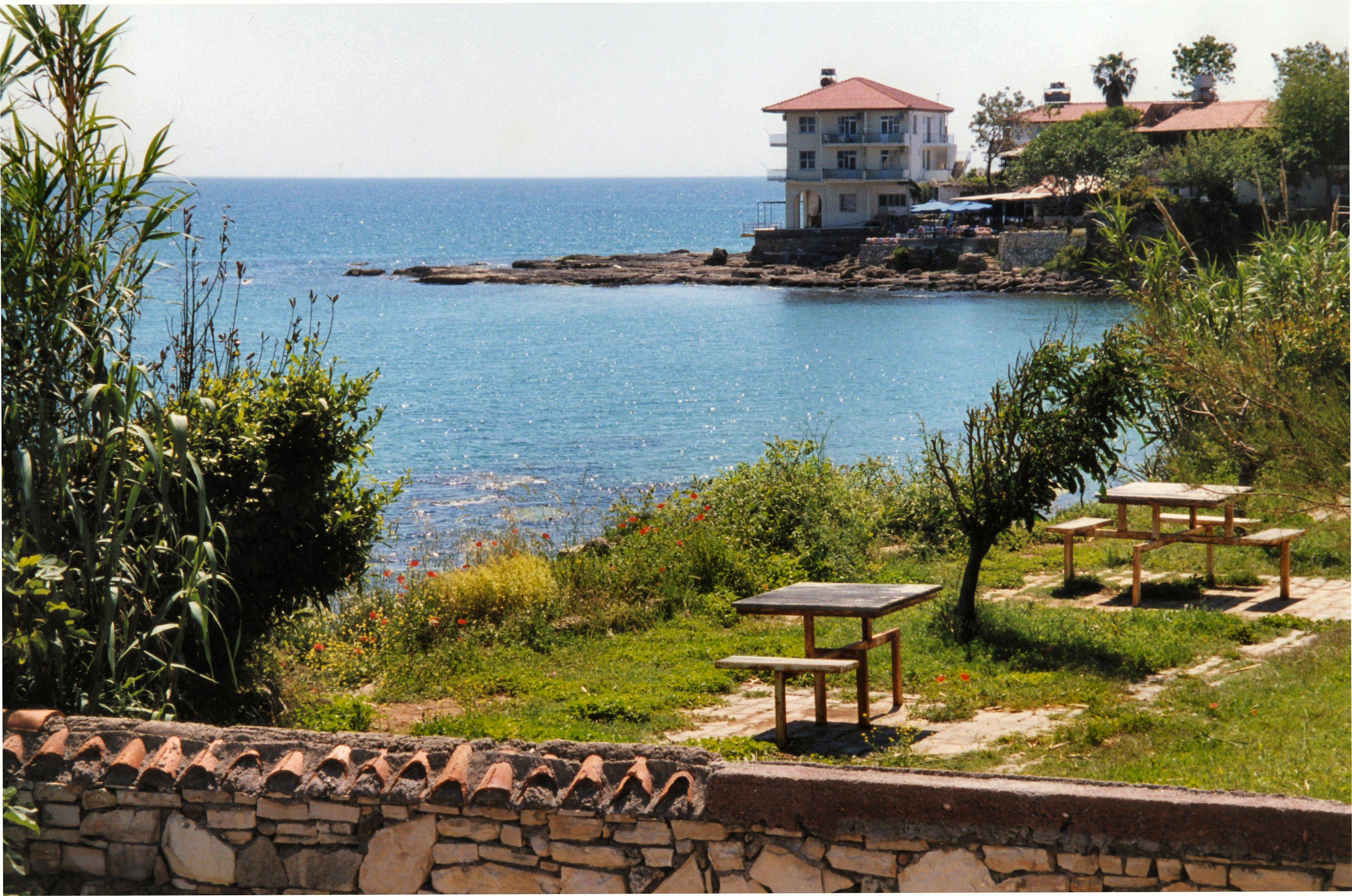 春の地中海