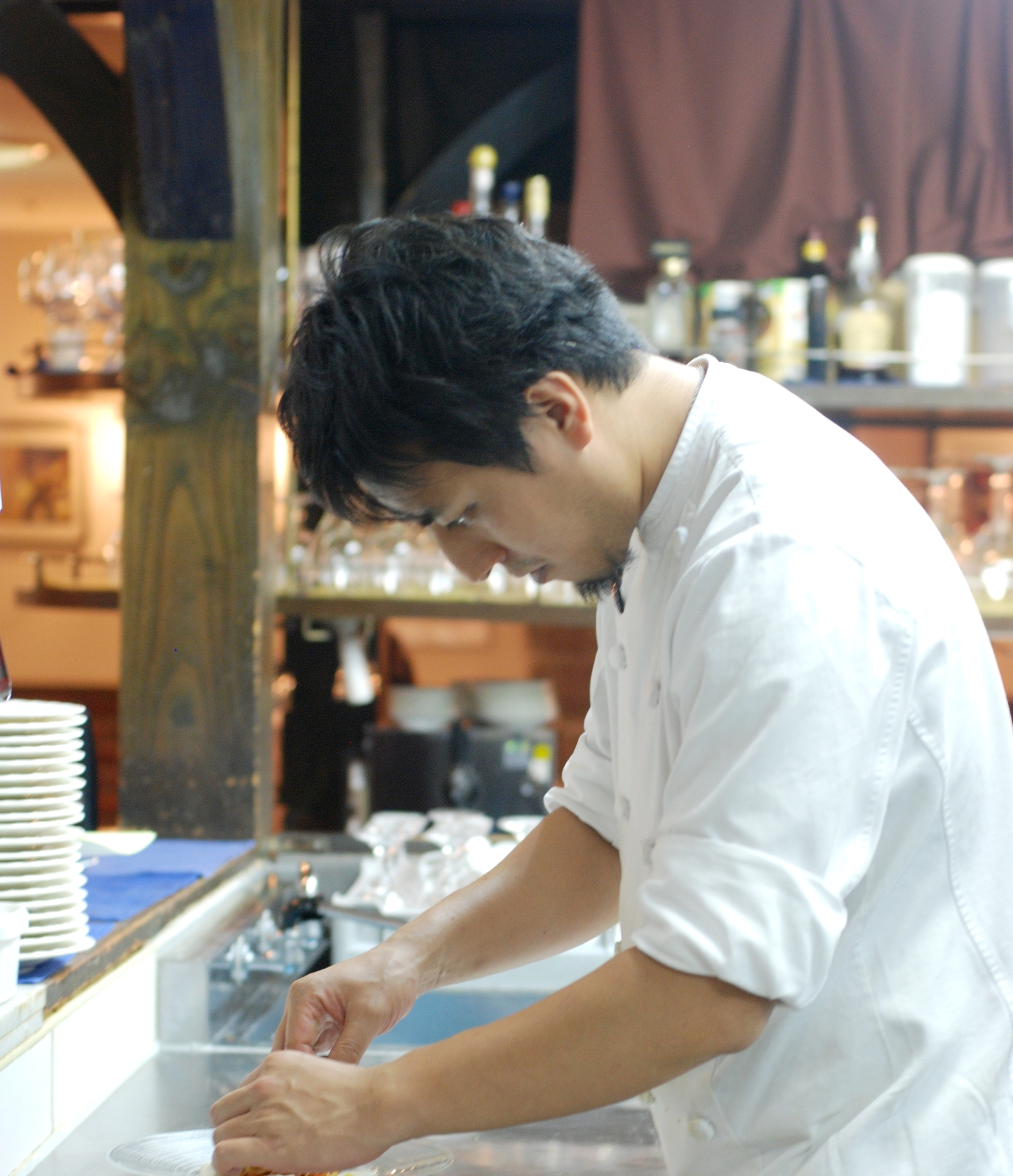 Gaudente Osaka chef