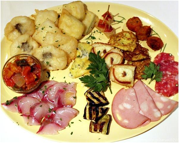 Osteria Totto dish net