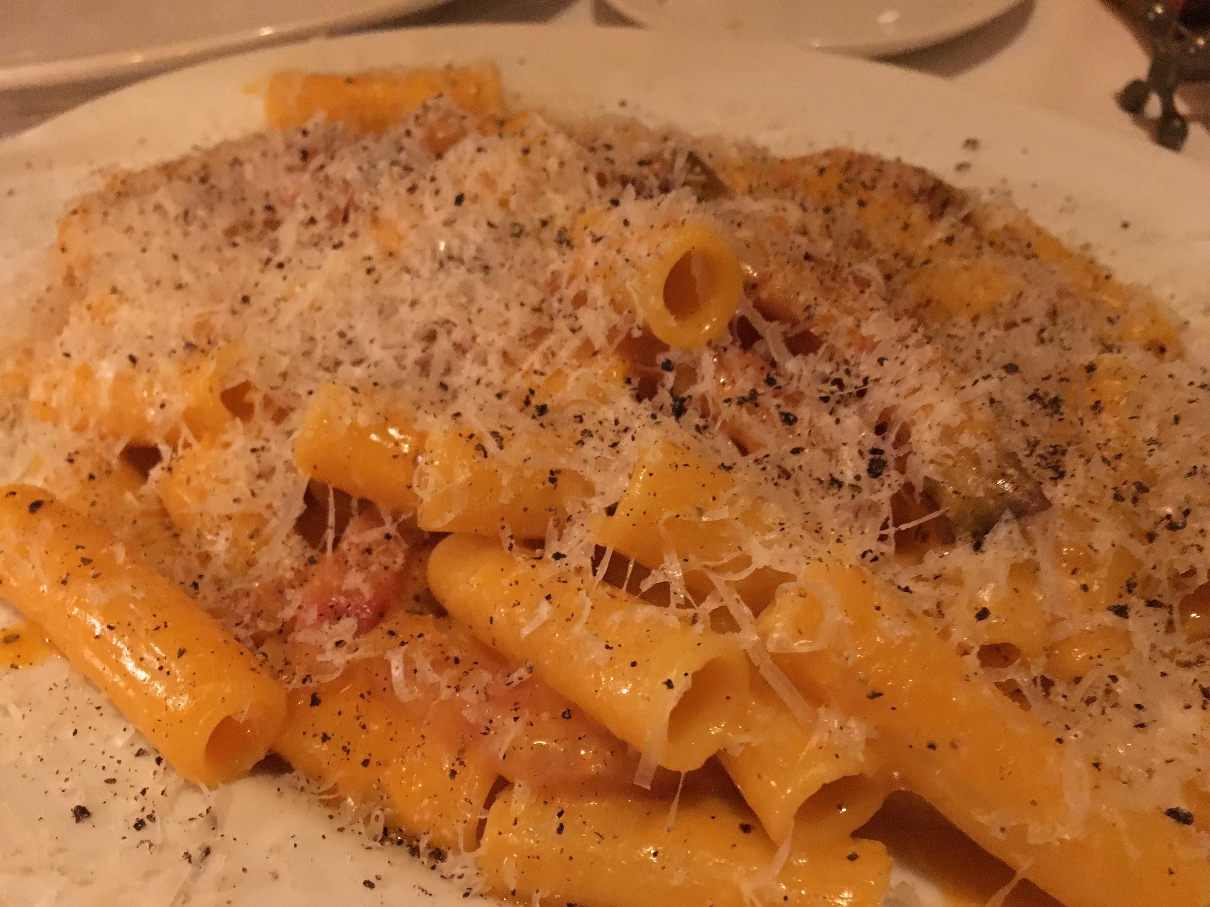 trattoria tanta bocca dish pasta