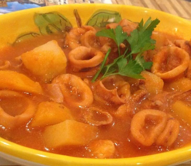 sapori di amalfi dish pasta